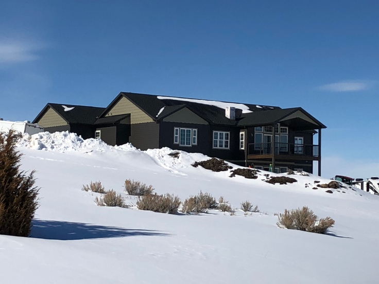 House, new house, new construction, construction, contractor, Montana