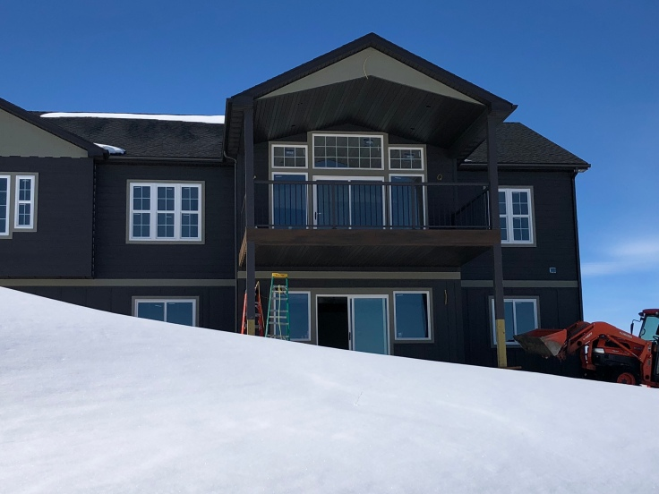New house, butte, Montana, contractor, building