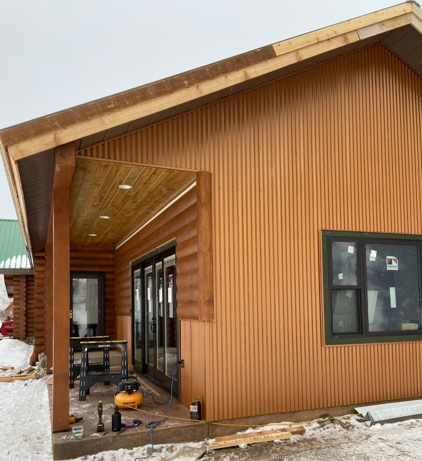 Construction contractor Montana MT Siding Cabin addition